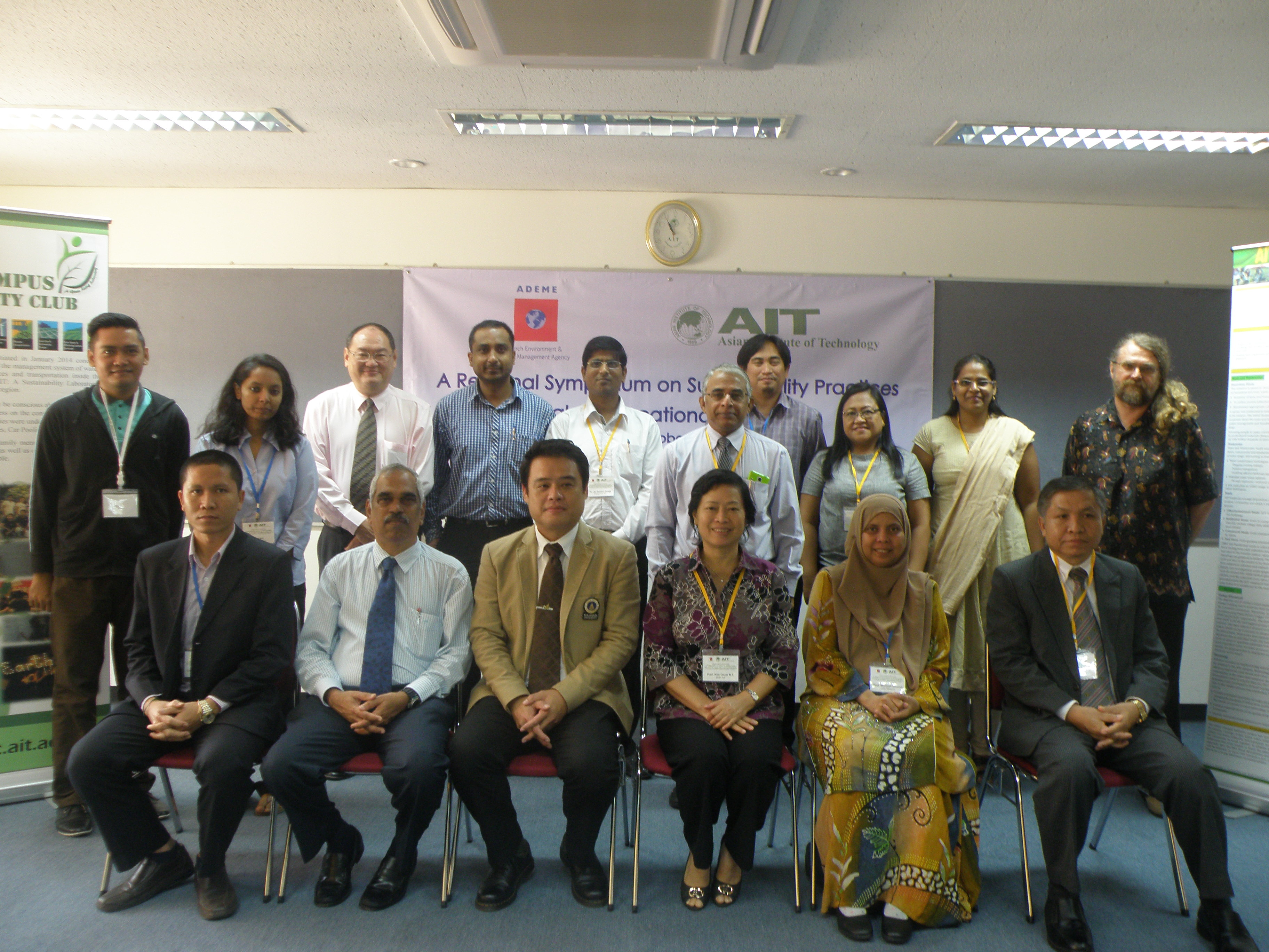 Regional Symposium on Sustainability Practices in Higher Educational Institutions, Bangkok, Thailand:  13 October 2015