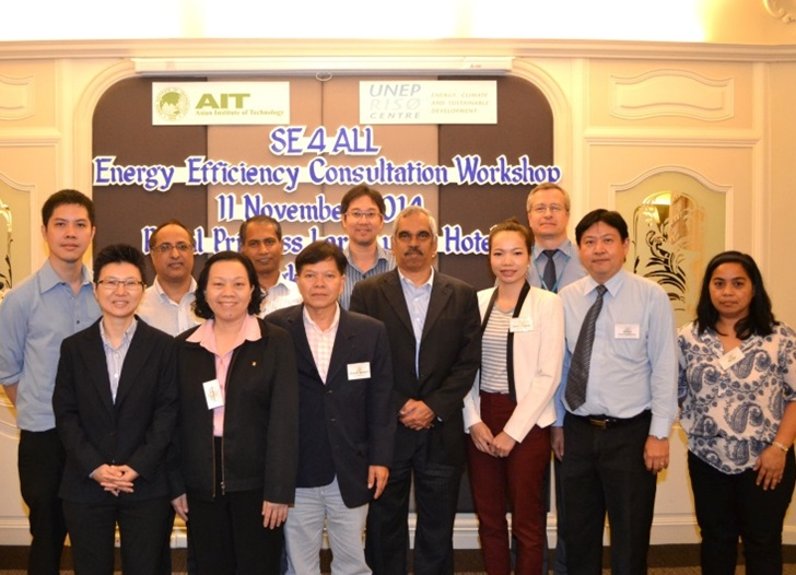 SE4ALL Energy Efficiency Consultation Workshops, Bangkok, Thailand: 11 November 2014