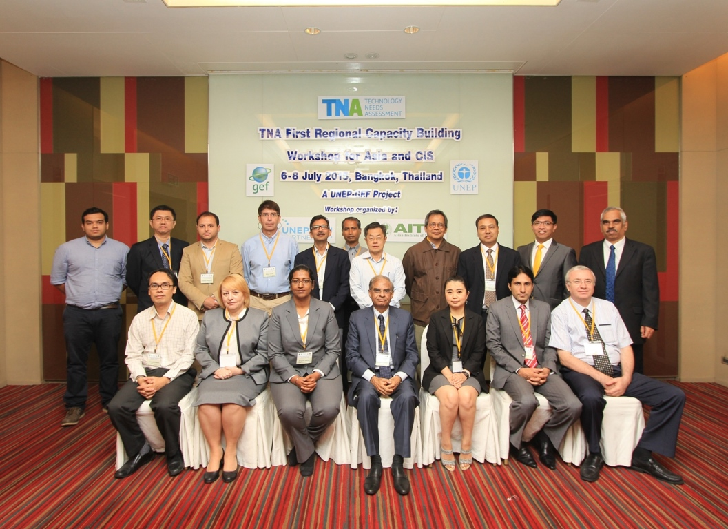 First Regional Capacity Building Workshop, TNA Phase II for Asia and CIS, Bangkok, Thailand: 6-8 July 2015