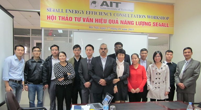 SE4ALL Energy Efficiency Consultation Workshops, Hanoi, Vietnam:  27 January 2015