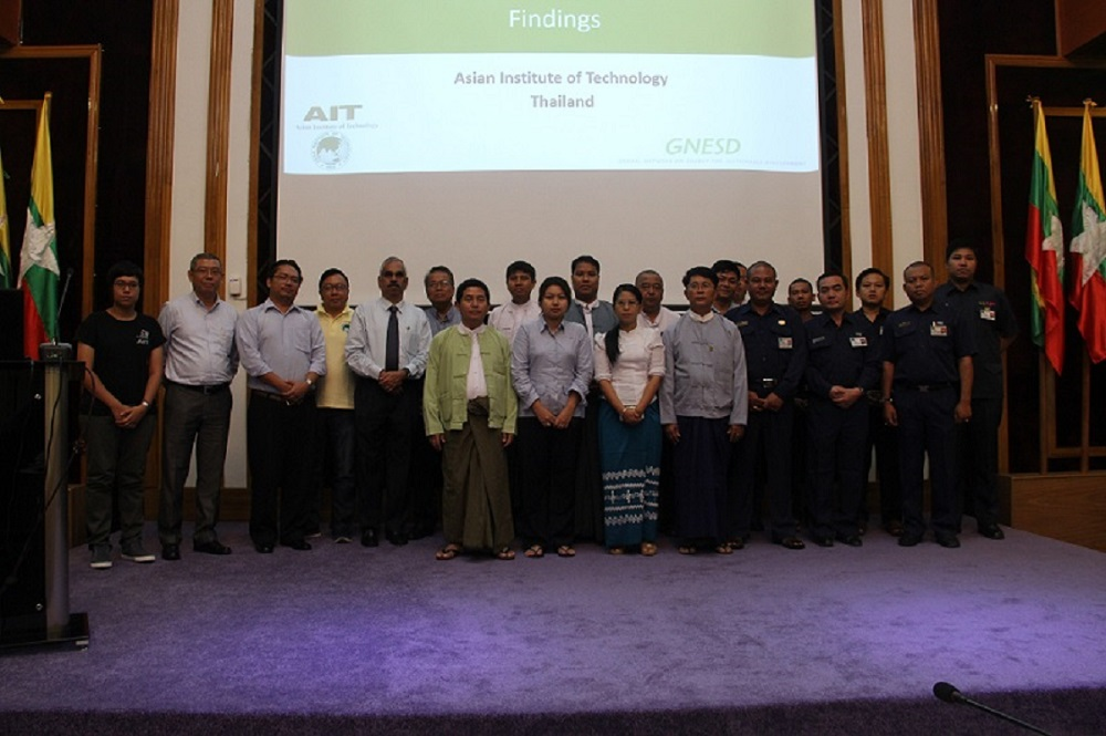 Workshop on Urban Peri-urban Energy Access in Myanmar:  Knowledge and Outreach,Yangon, Myanmar : 30 April 2015