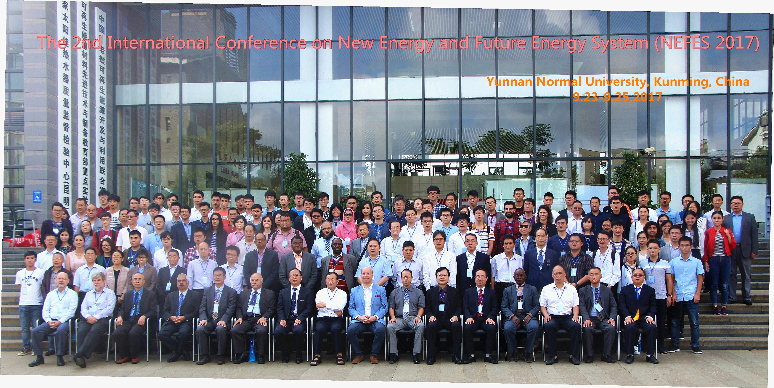 2nd International Conference on New Energy and Futre Energy Systems (NEFES 2017), Yunnan Normal University, Kunming, P.R. China: 23-25 September 2017