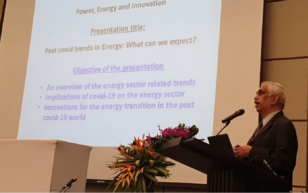 Presentation at the 2020 International Conference on Power, Energy and Innovations (ICPEI) at Chiang Mai, Thailand, 14-16 October 2020.